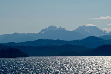 Alaska, sailing, from Ketchikan, to Juneau